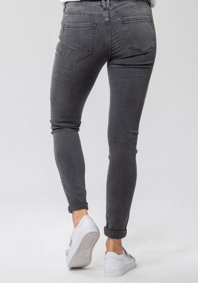 2bca623be366 edc by Esprit Skinny-fit-Jeans im leichten Used-Look online kaufen | OTTO