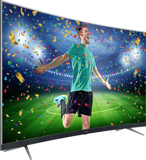 Thomson 55UD6696 Curved-LED-Fernseher (139 cm/55 Zoll, 4K Ultra HD, Smart-TV)