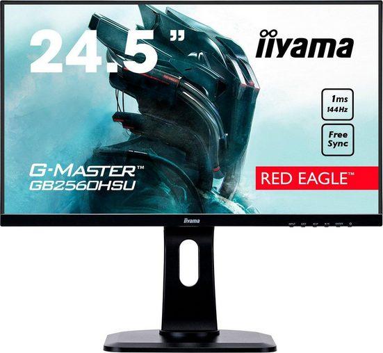 Iiyama G-MASTER GB2560HSU-B1 Gaming-LED-Monitor (1920 x 1080 Pixel, Full HD, 1 ms Reaktionszeit, 144 Hz)