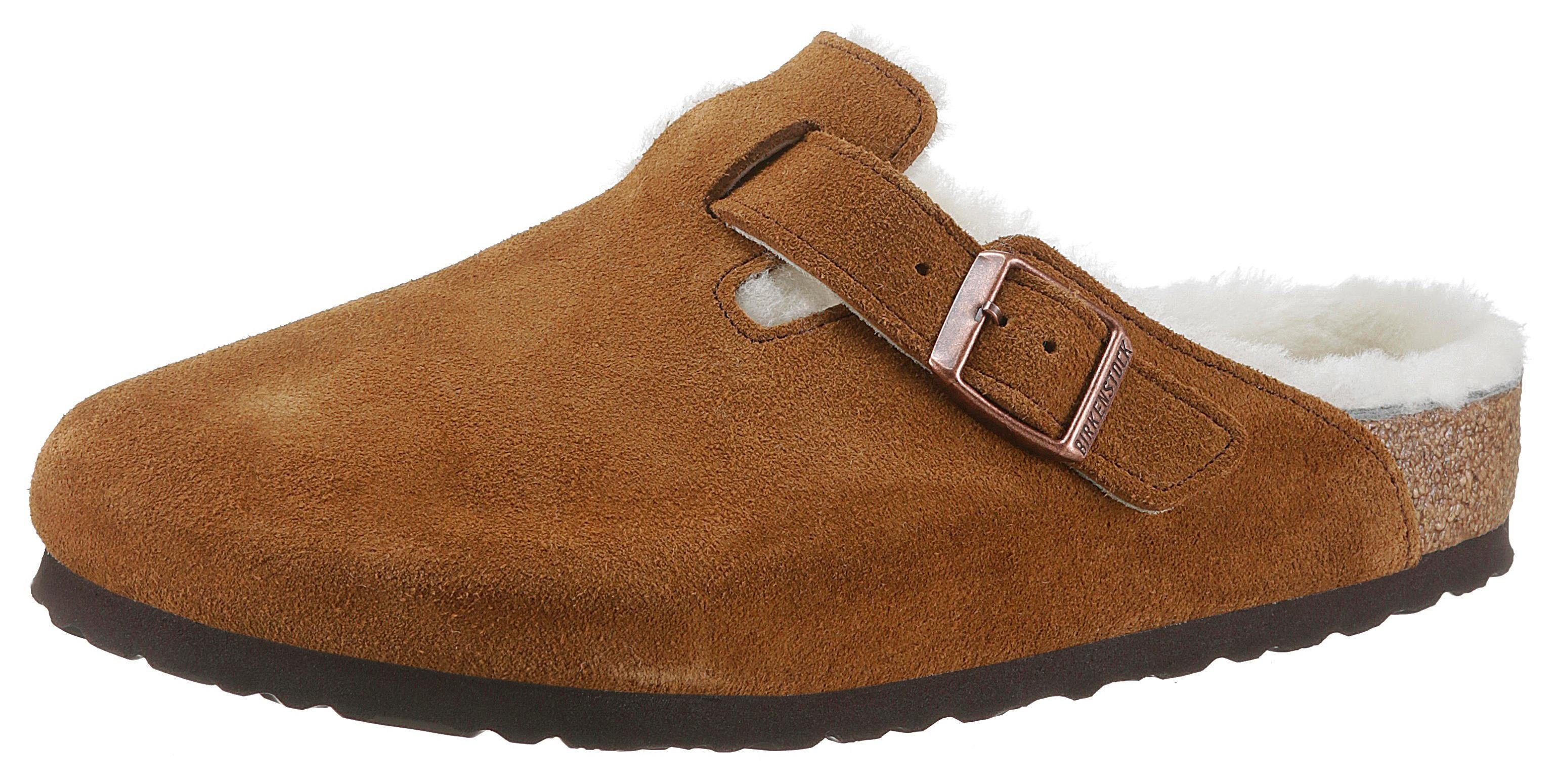 Birkenstock »Boston« Pantoffel in normaler Schuhweite online kaufen | OTTO
