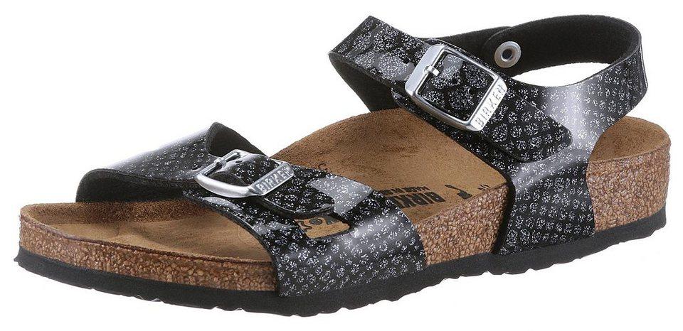 f169f39eef4343 Birkenstock »RIO MAGIC KIDS« Sandale in Reptiloptik und schmaler Schuhweite