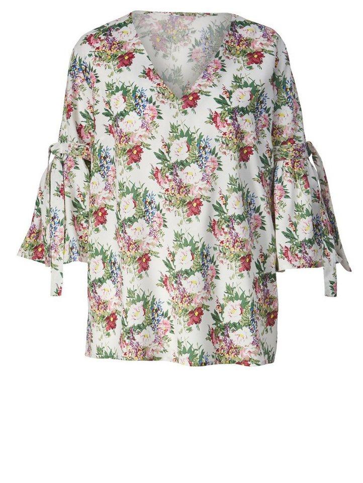 Sara Lindholm by Happy Size Bluse mit Blumen-Print   OTTO b10974158f