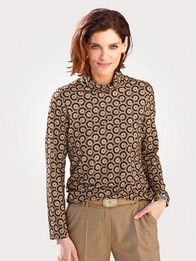 Mona Shirt mit Rollkragen