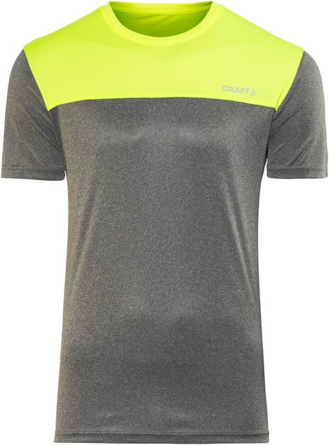 Herren Craft T-Shirt Eaze SS Tee Two Men grau | 07318572845282