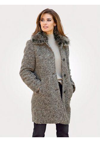 Пальто шерстяное с воротник