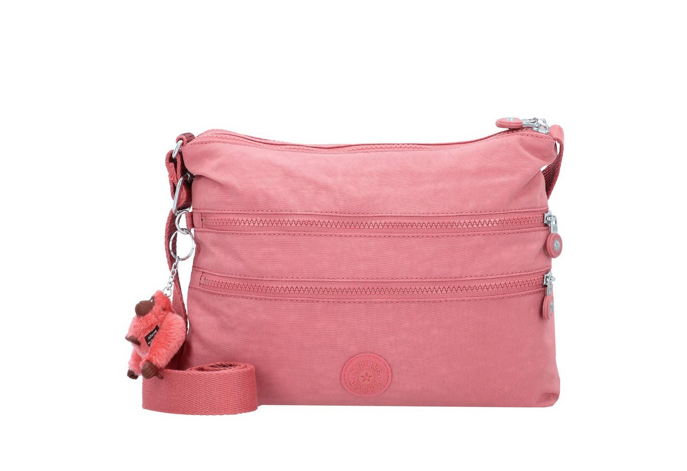 Damen KIPLING  Basic Alvar Umhängetasche 33 cm rosa | 05400806082166