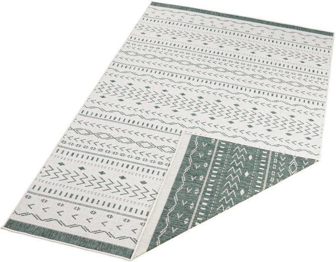 Teppich »Kuba«, bougari, rechteckig, Höhe 5 mm, In- und Outdoor geeignet, Wendeteppich