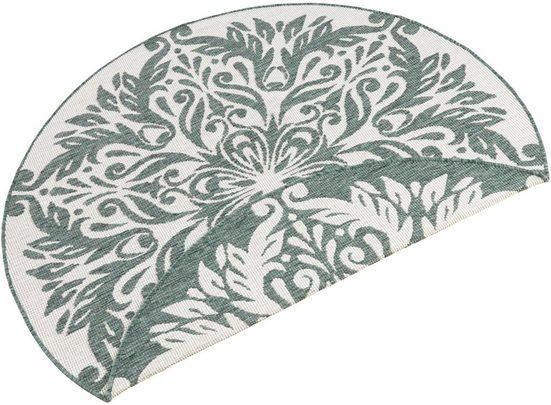 Teppich »Madrid«, bougari, rund, Höhe 5 mm, In- und Outdoor geeignet, Wendeteppich, Wohnzimmer