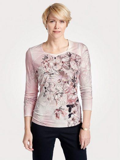 Mona Shirt mit floralem Druck