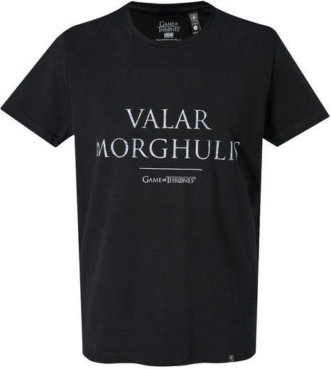 Musterbrand T-Shirt »Valar Morghulis« Game of Thrones Kollektion