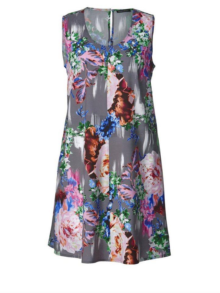 a8007d01de7aa3 Sara Lindholm by Happy Size Kleid mit Blumen-Print, A-Shape mit ...
