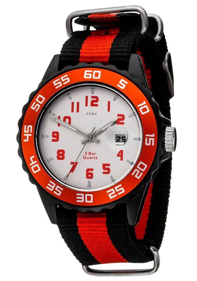 JOBO Quarzuhr | Uhren > Quarzuhren | Rot | JOBO