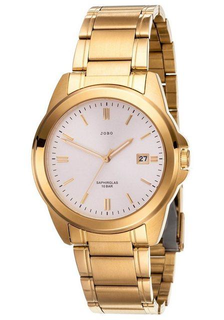 JOBO Quarzuhr | Uhren > Quarzuhren | Goldfarben | JOBO
