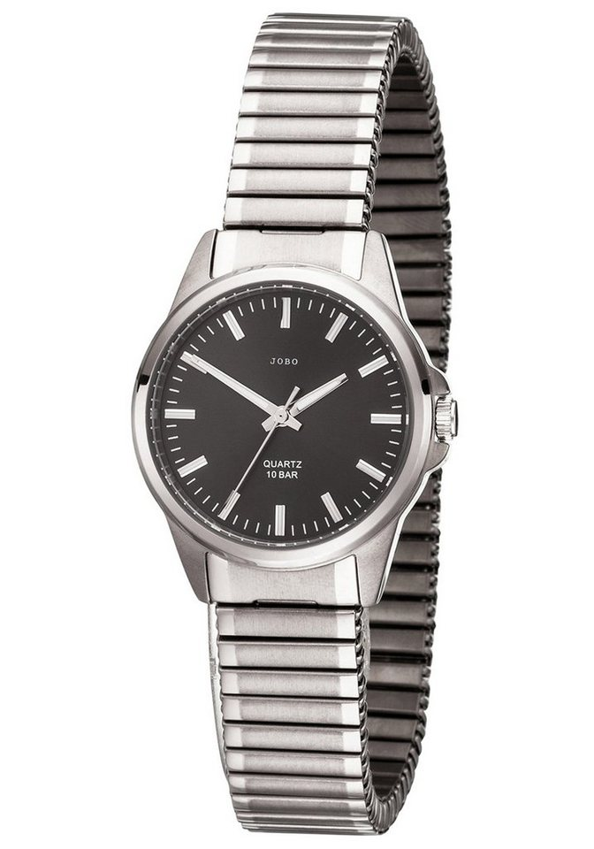 JOBO Titanuhr mit Flexband | Uhren > Titanuhren | Grau | JOBO