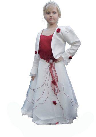 FAMILY TRENDS Suknelė su gražus Blüten-Applikation