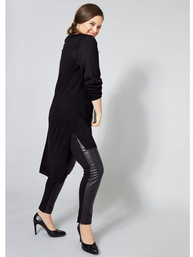 Sara Lindholm by Happy Size Lederimitat-Leggings
