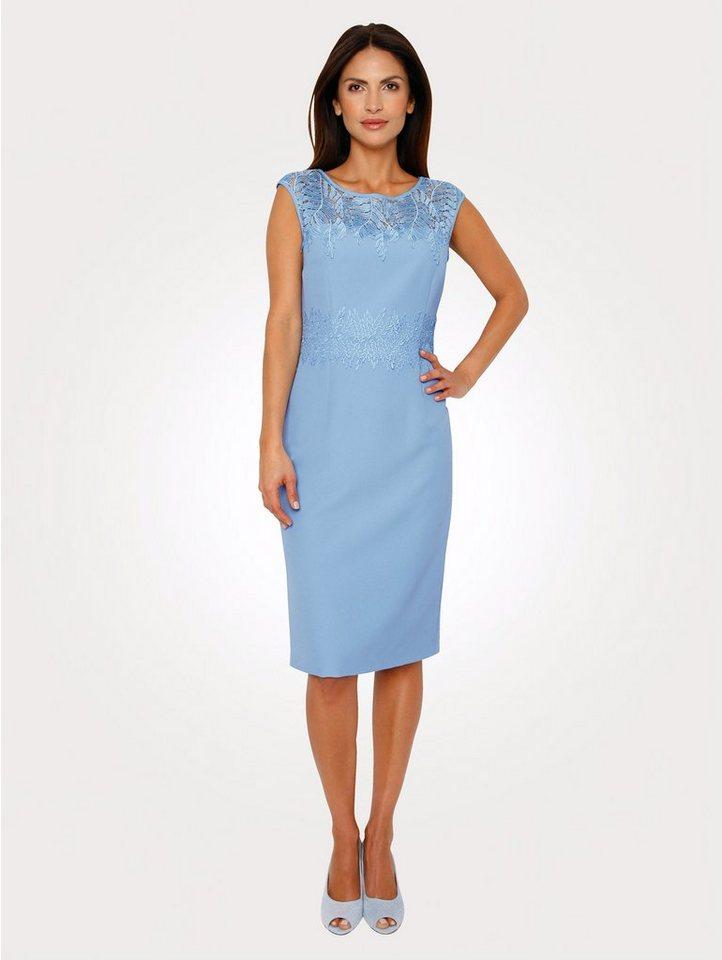 best authentic ec530 a27fc Mona Kleid mit Floralspitze, Elegante Etuiform mit elastischem Jerseyfutter  online kaufen | OTTO