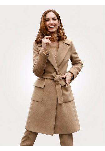 MONA Trumpas paltas su aukšta kokybė vilnon...