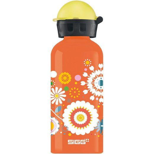 Sigg Alu-Trinkflasche Flowers, 400 ml