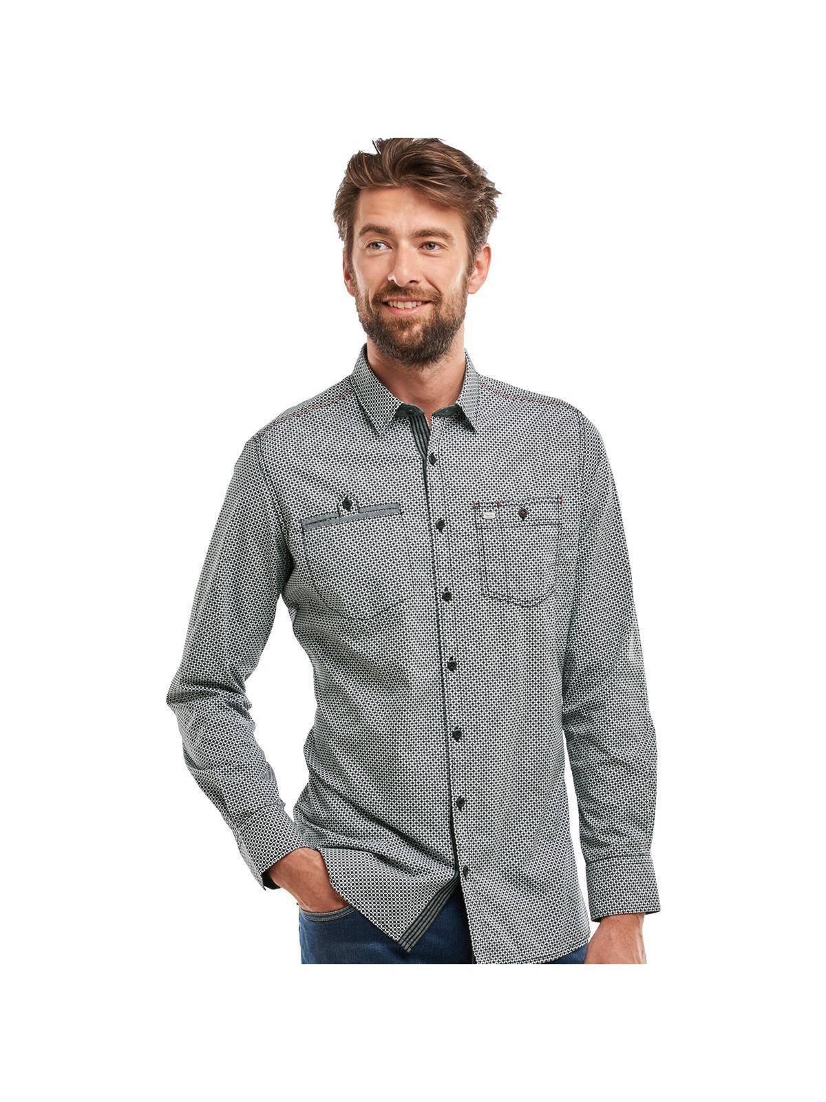 engbers Hemd langarm | Bekleidung > Hemden > Sonstige Hemden | Schwarz | Baumwolle | Engbers