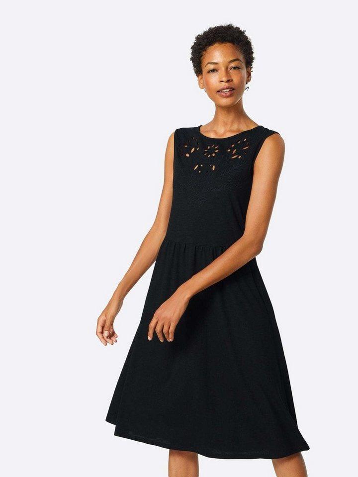DOROTHY PERKINS A-Linien-Kleid Lochmuster