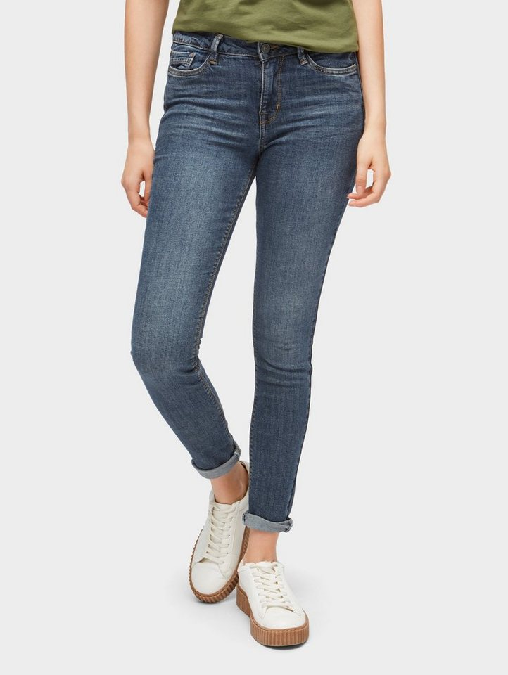 tom tailor denim skinny fit jeans nela extra skinny jeans. Black Bedroom Furniture Sets. Home Design Ideas