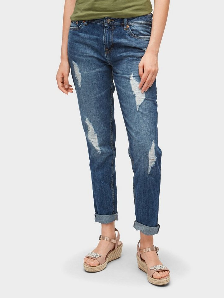 tom tailor denim boyfriend jeans liv boyfriend jeans. Black Bedroom Furniture Sets. Home Design Ideas