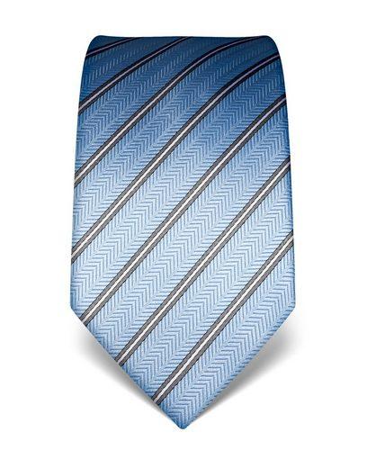 Vincenzo Boretti Krawatte in elegantem Streifendesign