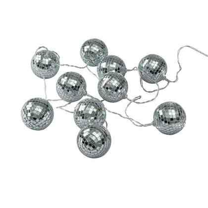 BUTLERS DISCO QUEEN »LED Lichterkette Discokugeln 10 L«
