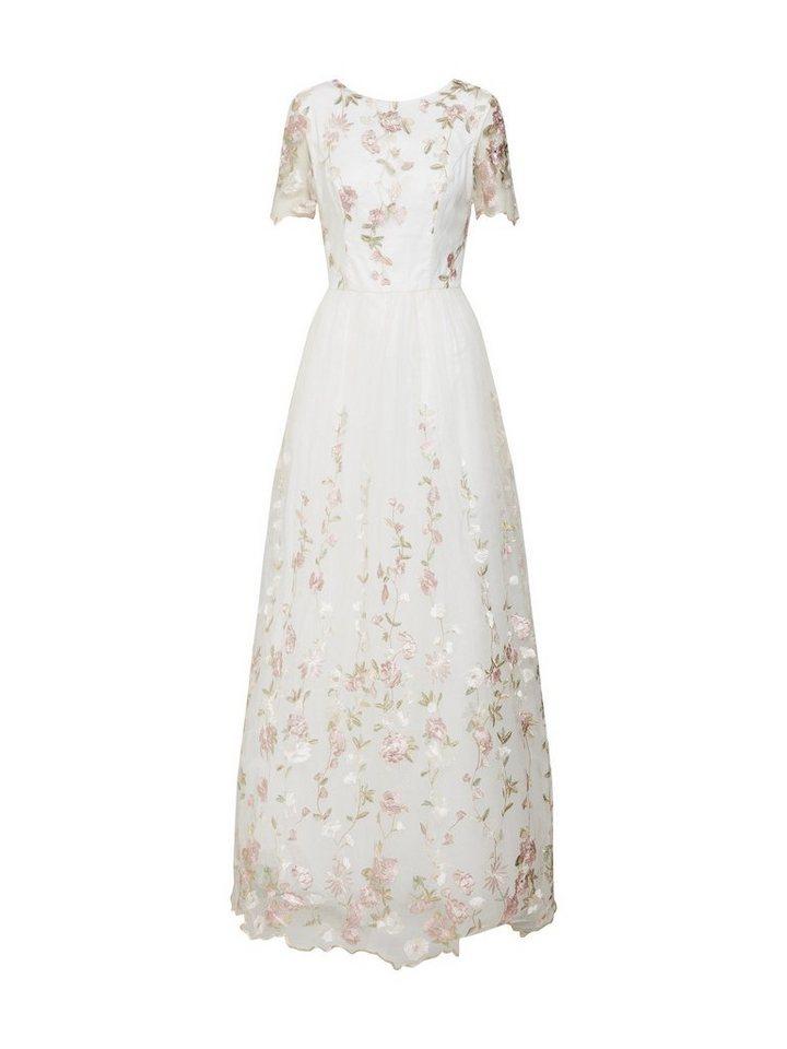 Damen Chi Chi London Abendkleid Stickerei weiß | 05053190168222
