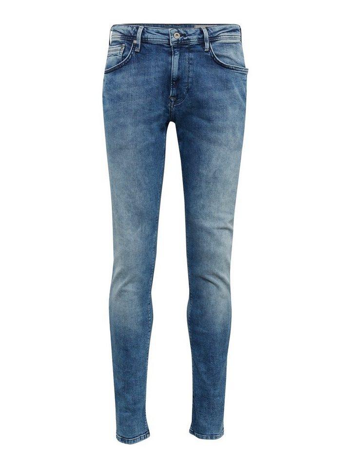 Herren TOM TAILOR Denim  Tapered-fit-Jeans tapered CONROY blau | 04060868290315