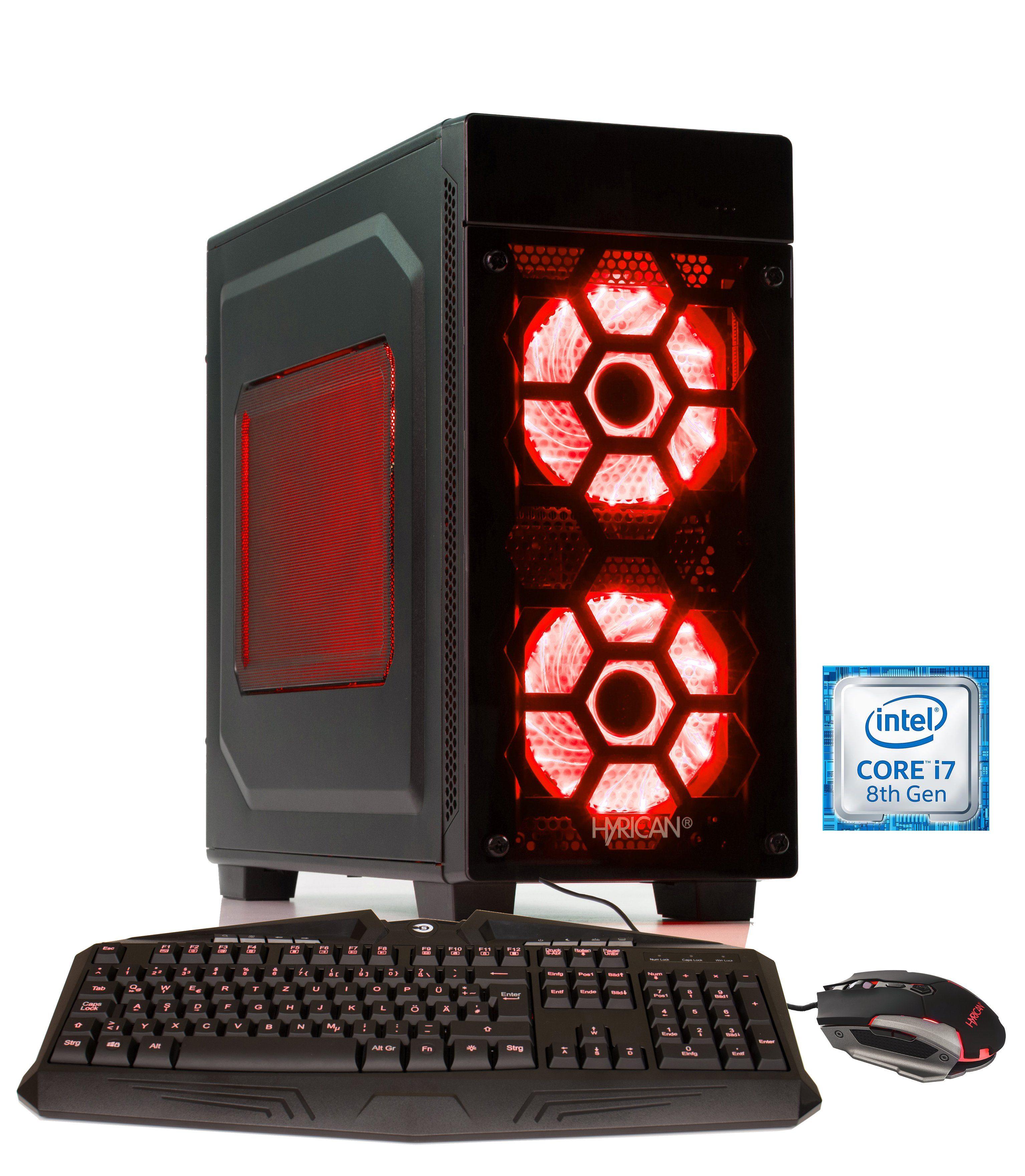 HYRICAN Gaming PC Intel i5-8400 16GB 240GB 1TB GeForce® GTX 1060 »Striker 6022«