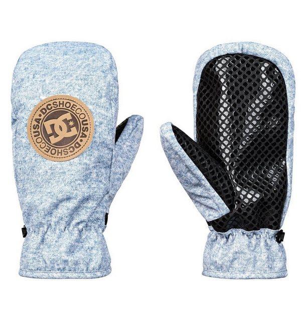 DC Shoes Ski-/Snowboardfäustlinge »Shelter« | Accessoires > Handschuhe > Fäustlinge | Blau | Polyester | DC Shoes