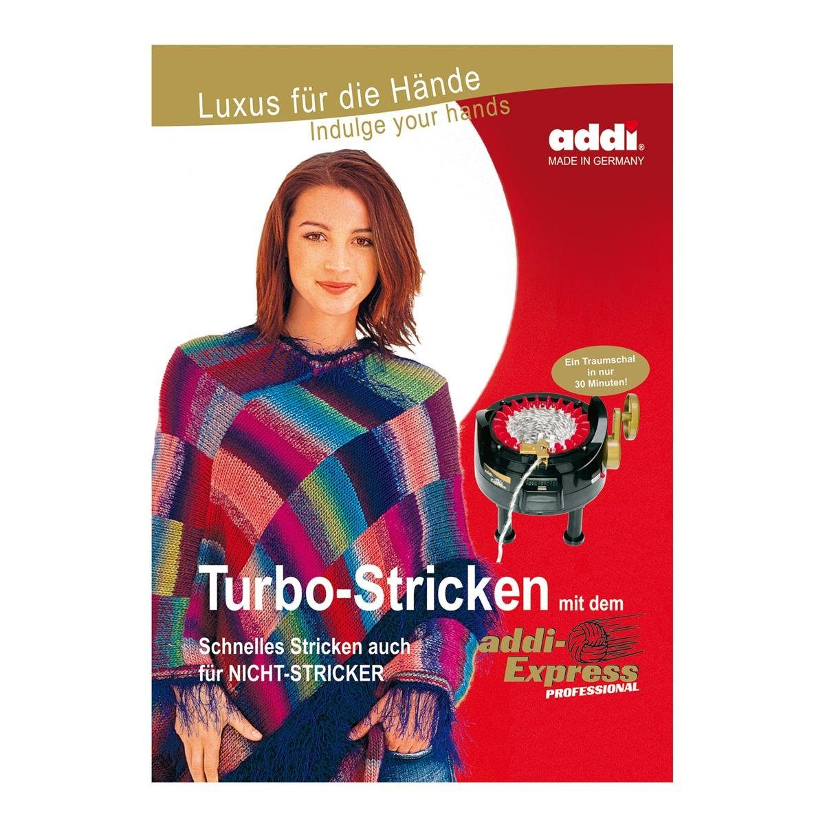 "addi Buch ""Turbo Stricken mit dem addi-Express Professional"""