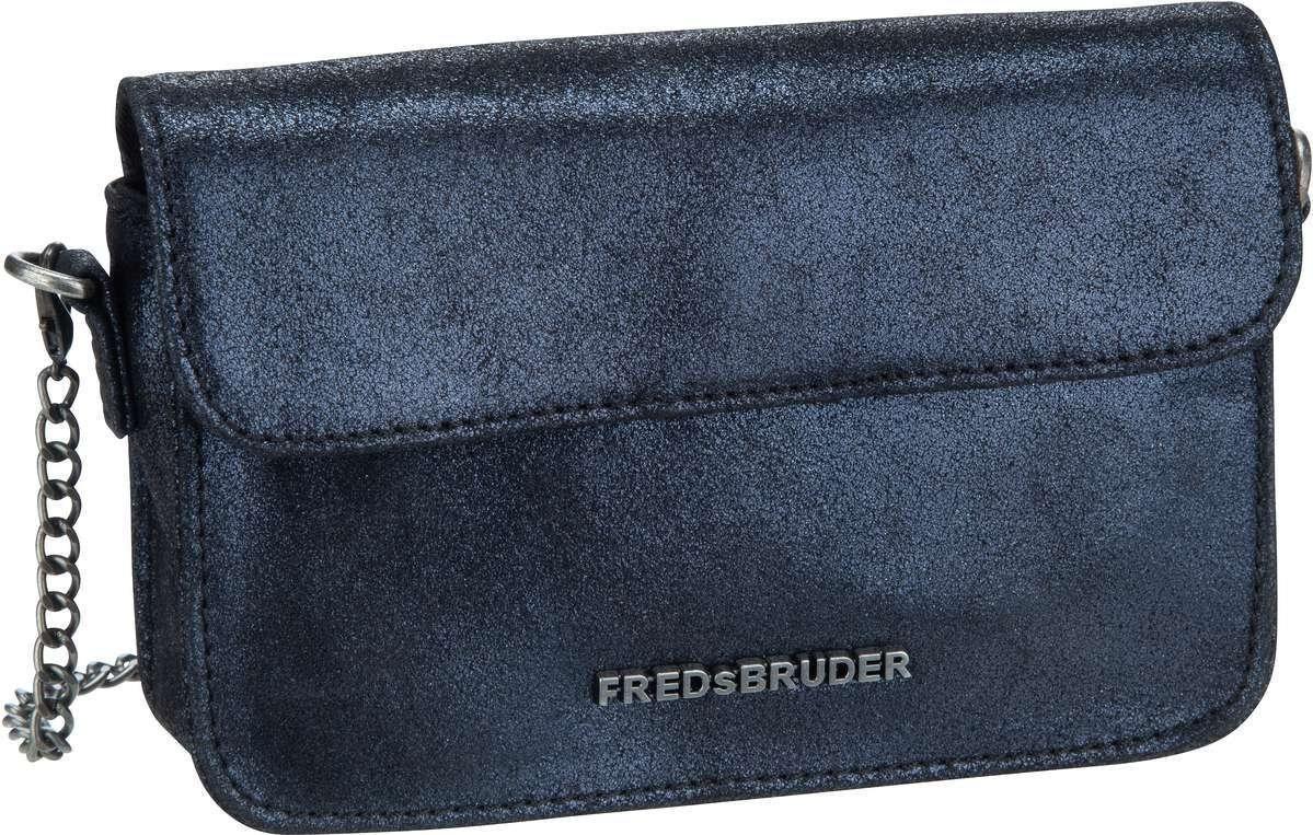 FREDsBRUDER Umhängetasche »Onyx« | Taschen > Umhängetaschen | Blau | Leder - Baumwolle | FREDsBRUDER