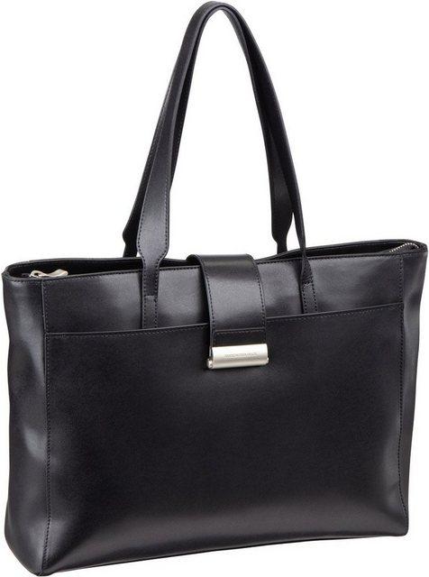 Damen Mandarina Duck Aktentasche Hera 3.0 Hand Bag RAT10 schwarz | 08032803677457