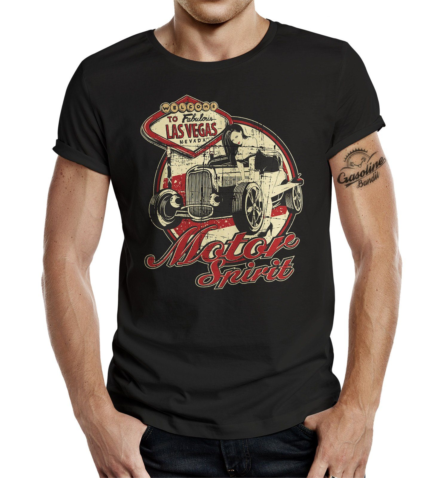 GASOLINE BANDIT® T-Shirt »Motor Spirit«
