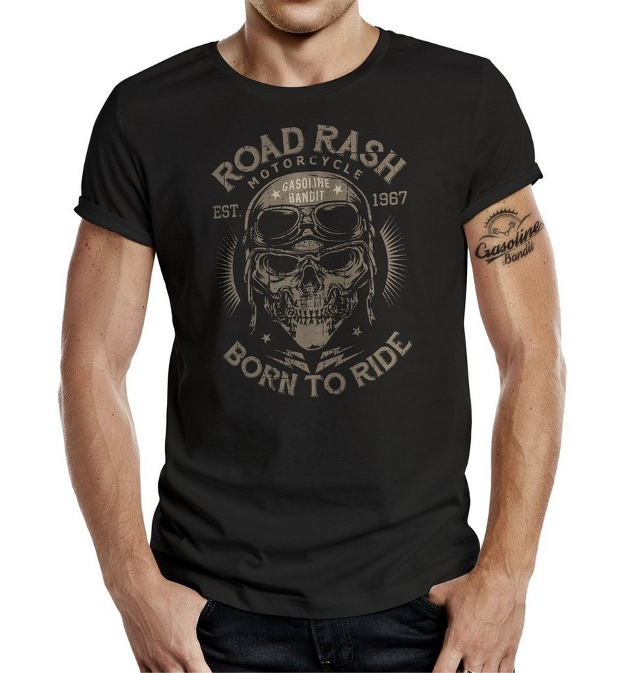 e453c89c95192d GASOLINE BANDIT® T-Shirt mit Frontdruck »Road Rash« online kaufen