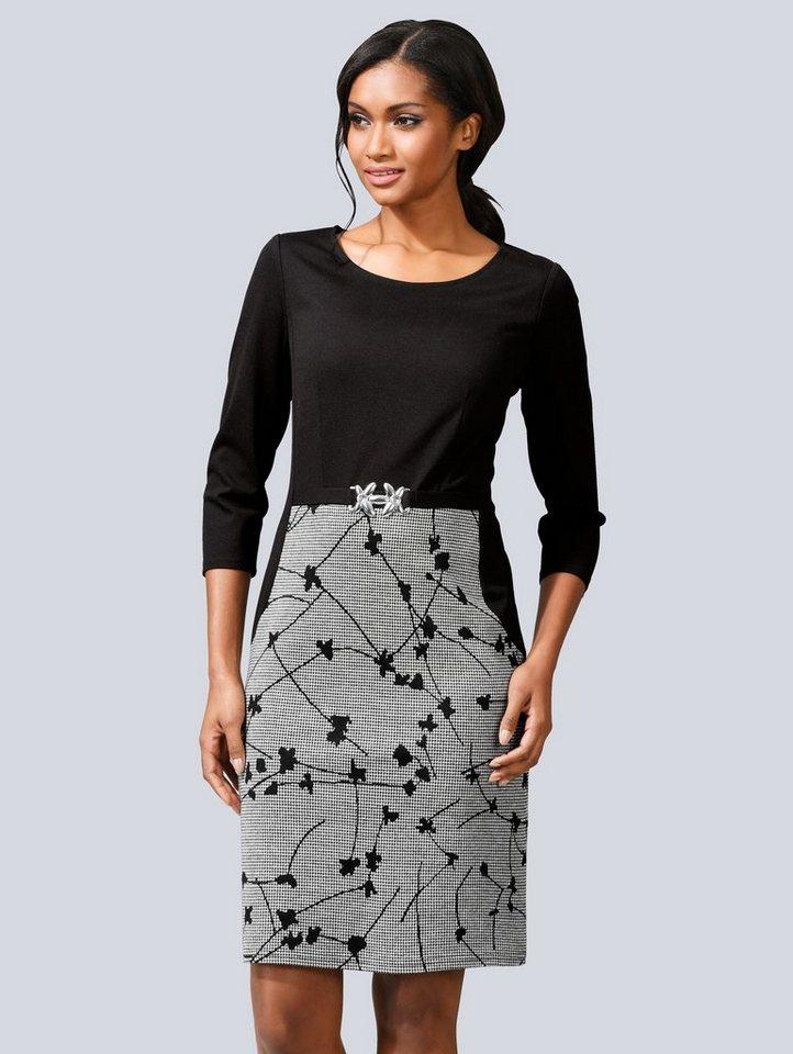 Alba moda kleider schwarz