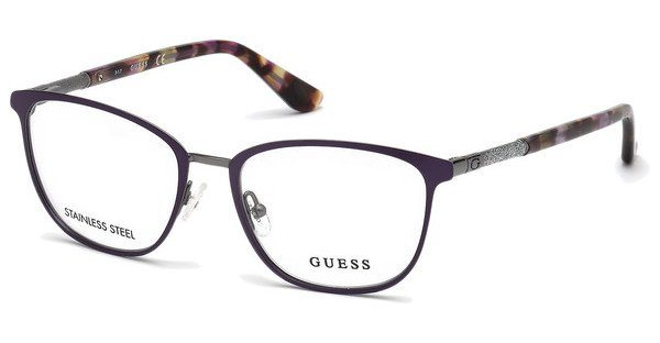 new concept 8a54a f0bd0 Guess Damen Brille »GU2659«, Squareförmige Vollrandbrille online kaufen |  OTTO