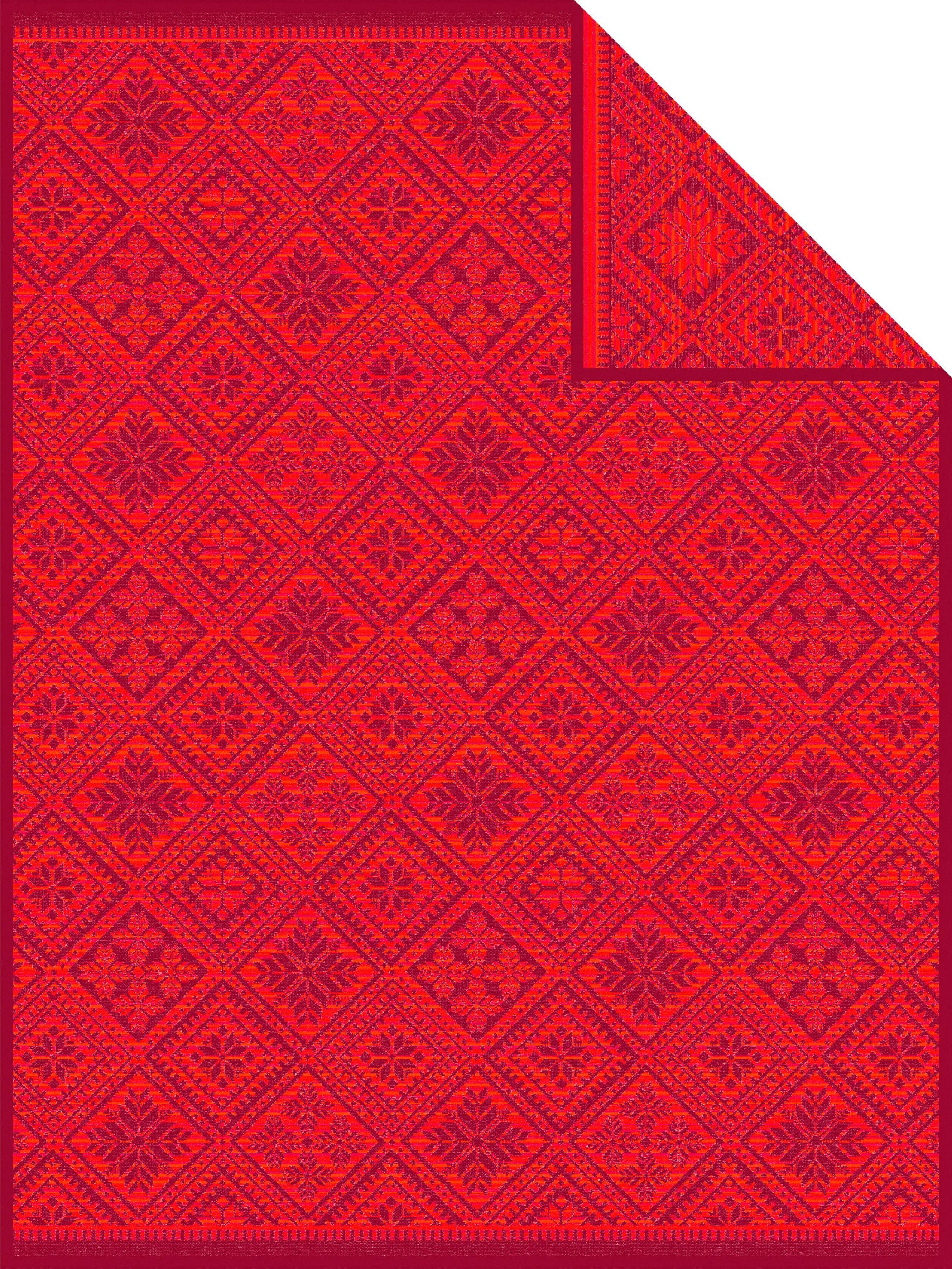 Wohndecke »Marcala«, IBENA, mit Muster