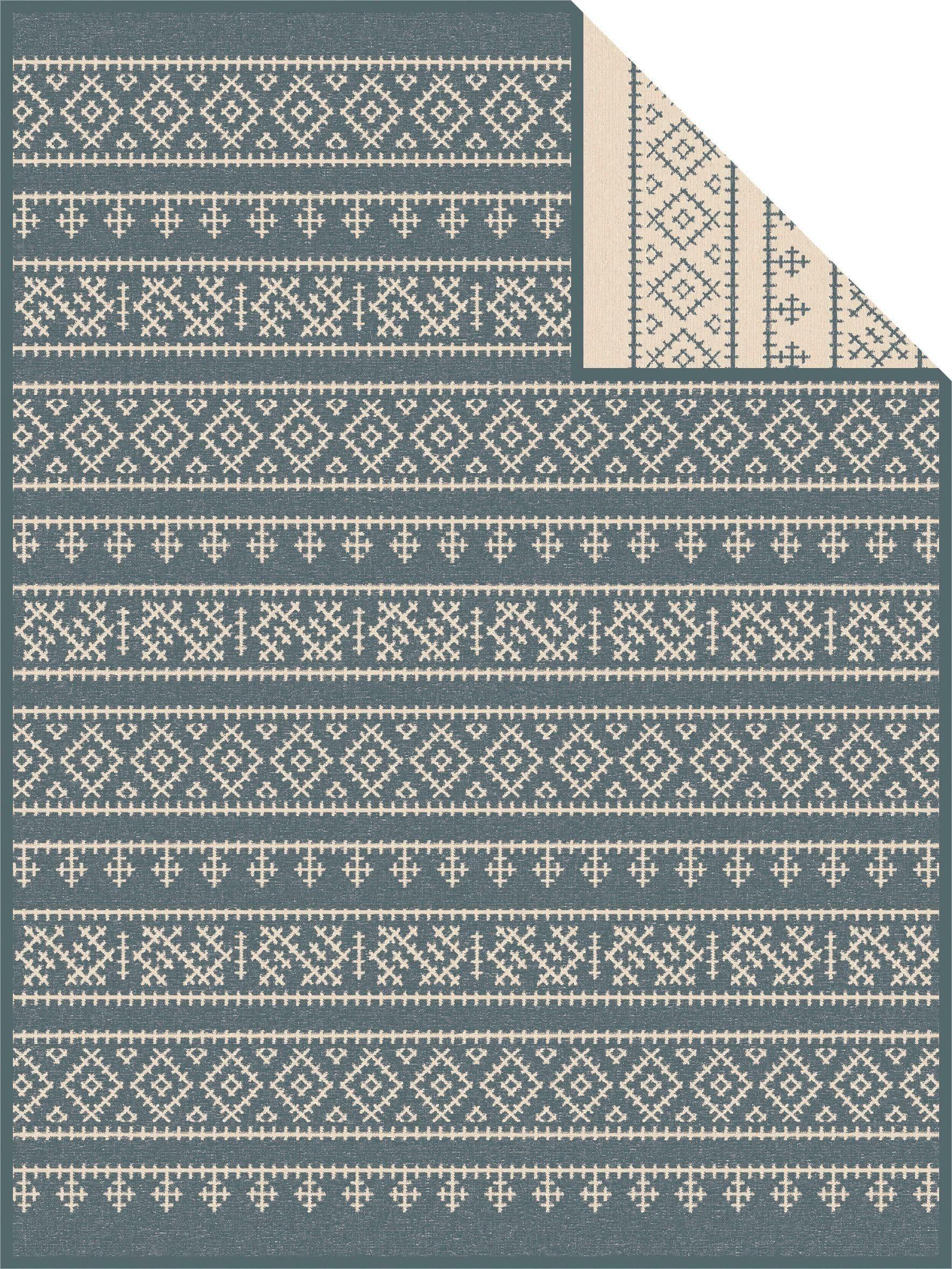 Wohndecke »Haugesund«, IBENA, mit Norwegen Muster