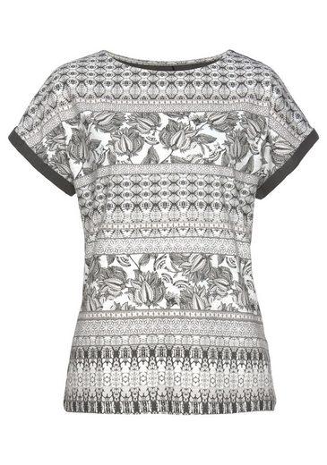 alloverprint Ethno shirt Mit Olsen Print gXxqA7f8