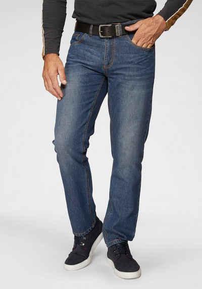 Arizona Slim-fit-Jeans »Clint« mit dezenter Waschung