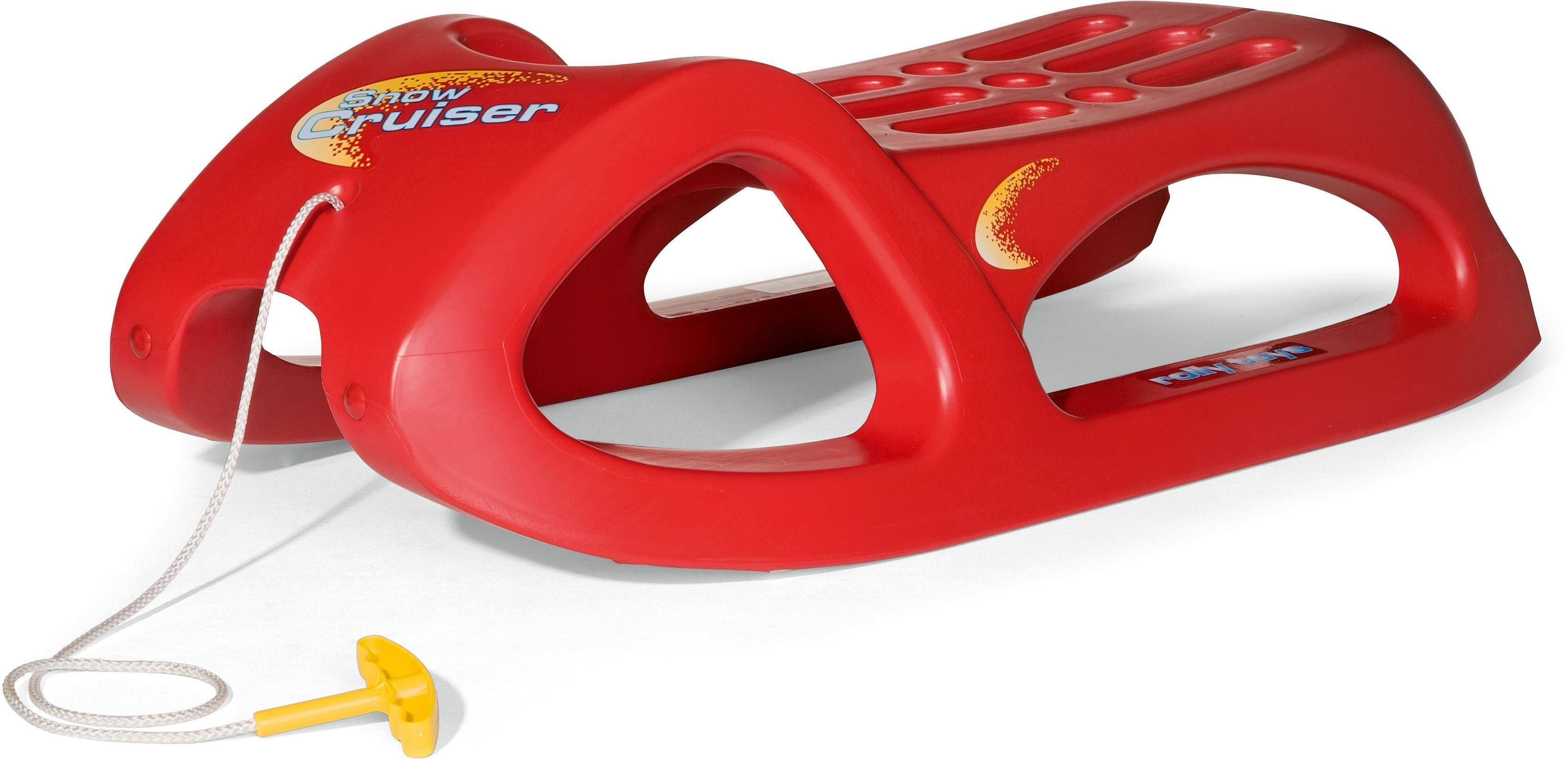 rolly® toys Schlitten, »rollySnow Cruiser, rot«