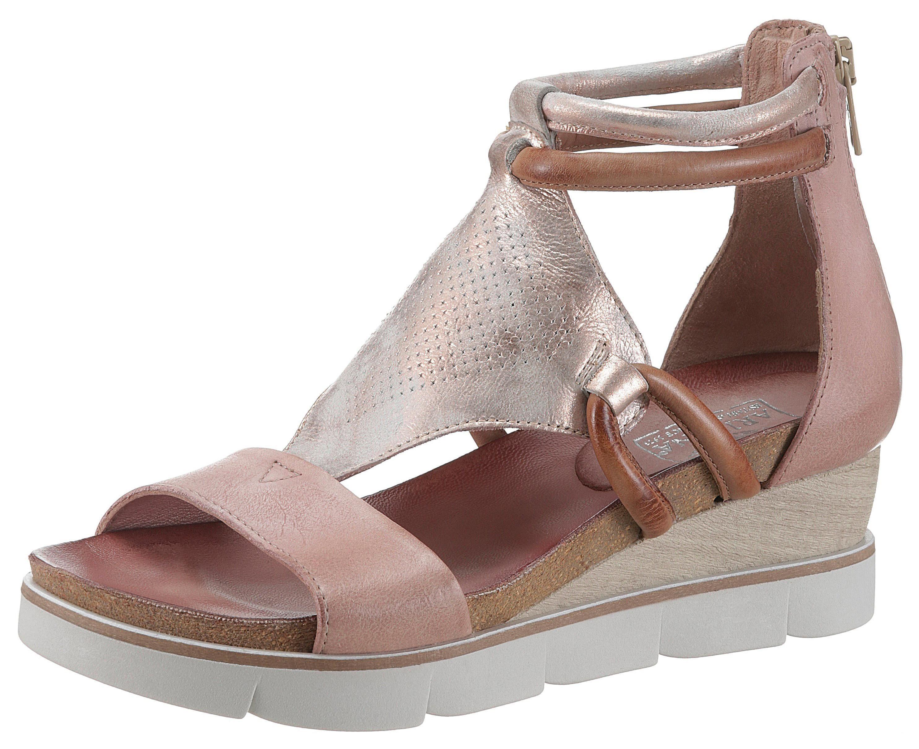 Arizona Einsatz Mit Metallic Sandalette KaufenOtto Ok8nX0wP