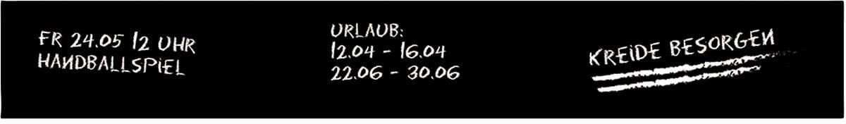 Magnetische Tafelfolie »Schwarz« 50/7 cm