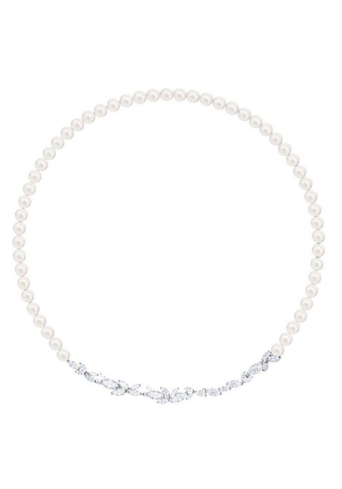 Swarovski Kette ohne Anhänger »Louison Pearl Halskette, 5414693« mit  Swarovski® Kristallen und Swarovski® Perlen 0ec5232df2