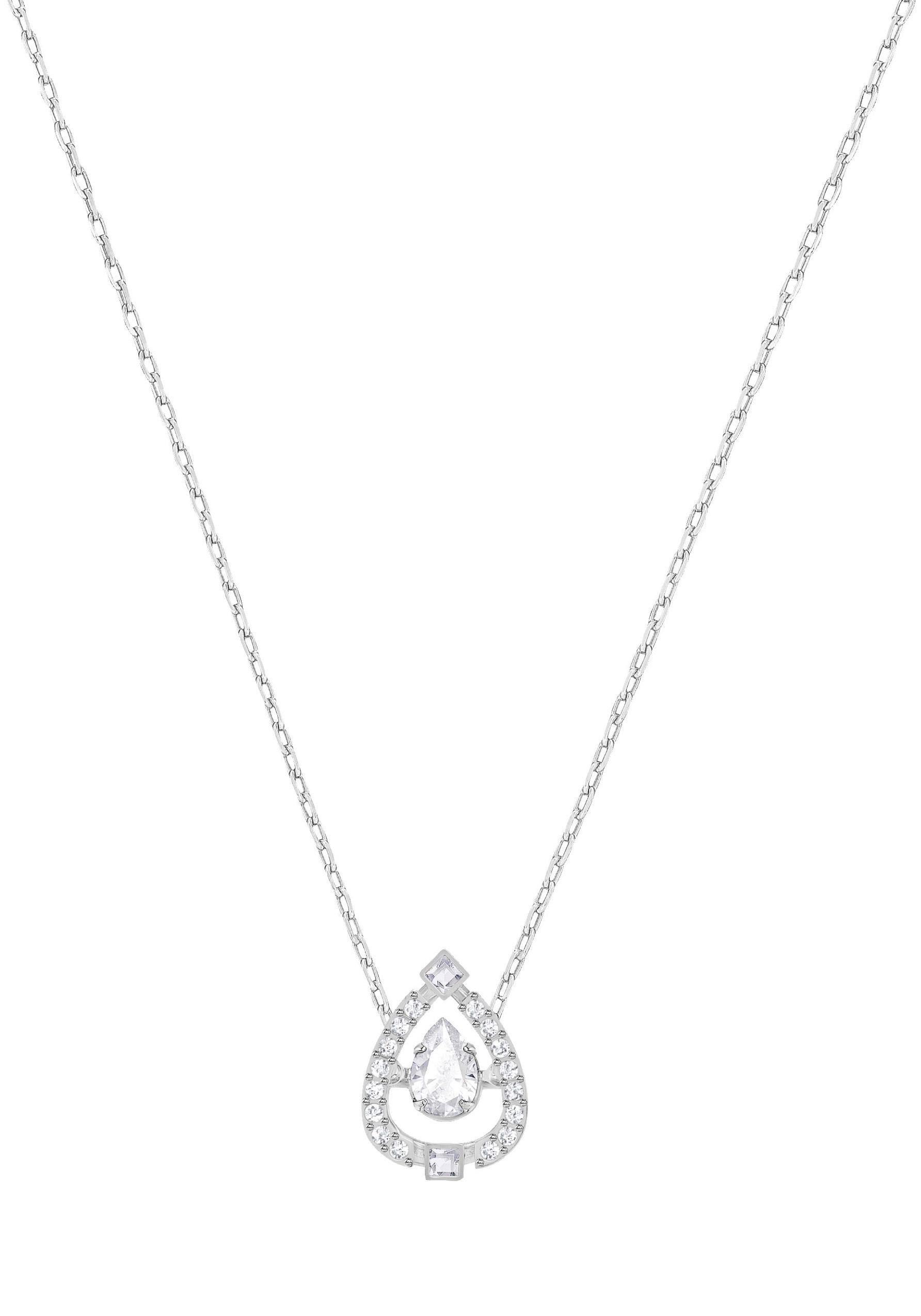 Swarovski Kette mit Anhänger »Sparkling Dance Flower, 5451992« mit Swarovski® Kristallen
