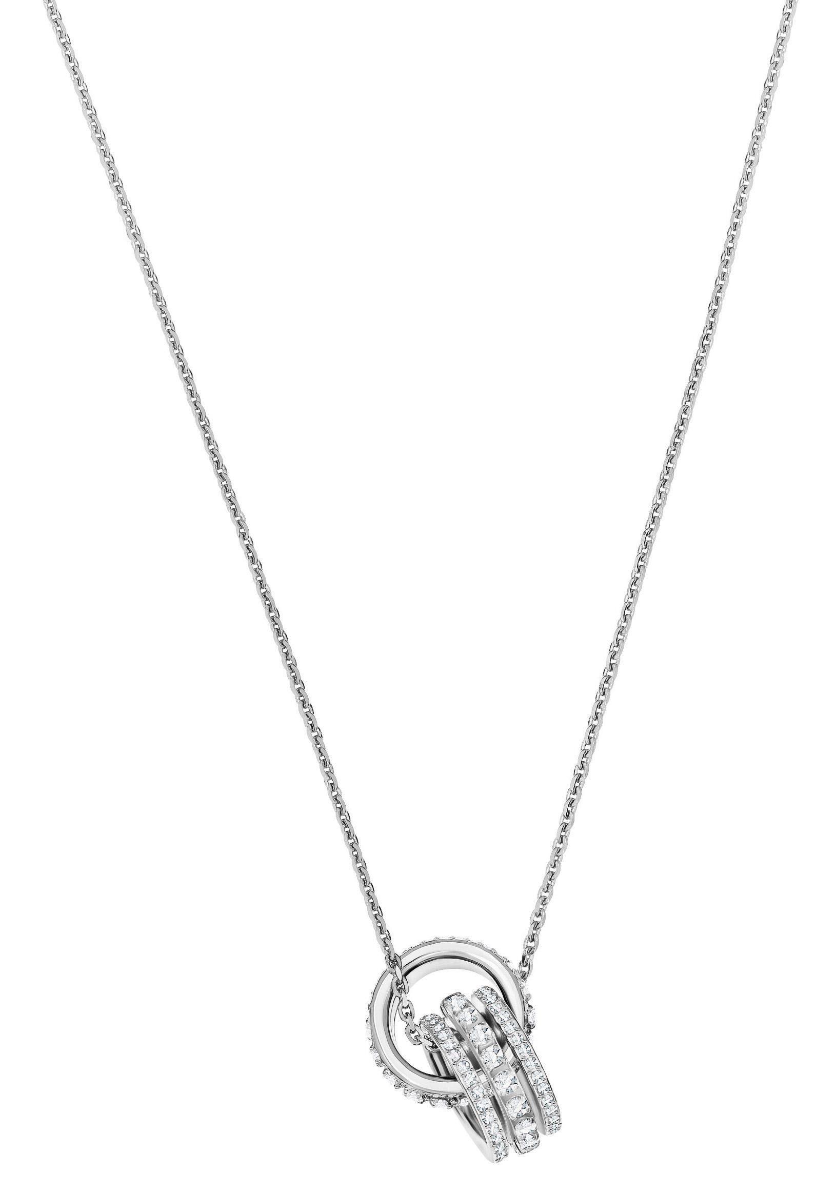 Swarovski Kette mit Anhänger »Further, 5409696« mit Swarovski® Kristallen